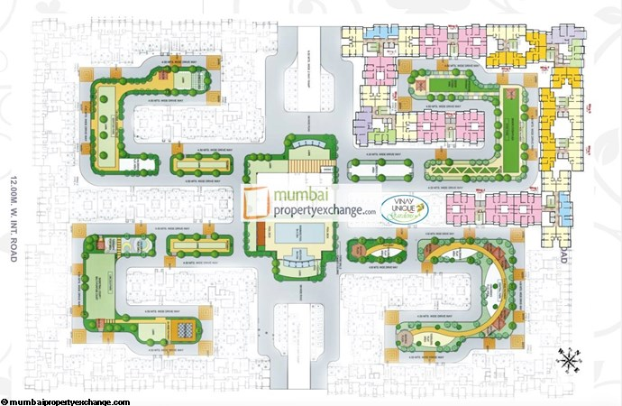Vinay Unique Gardens Layout Plan