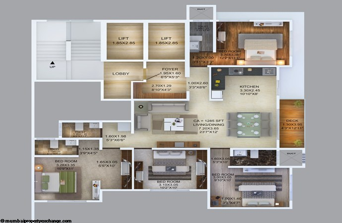 Manthan Embassy Manthan Embassy 4BHK Floor Plan