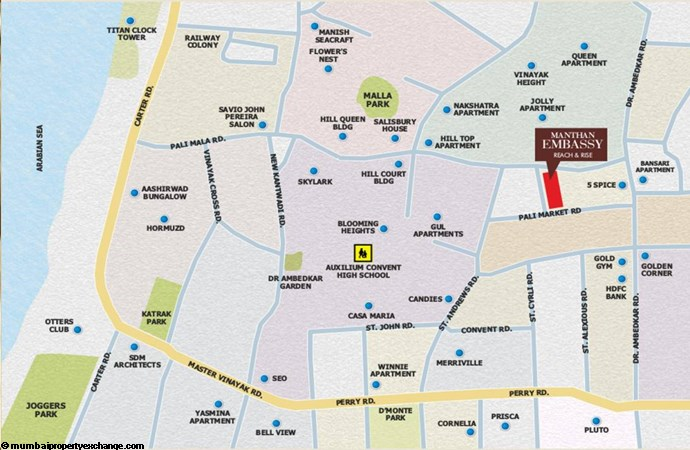 Manthan Embassy Manthan Embassy Location
