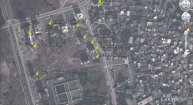 Hari Govind Dham Google Earth