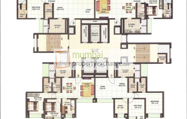 Highland Crest Floor Plan