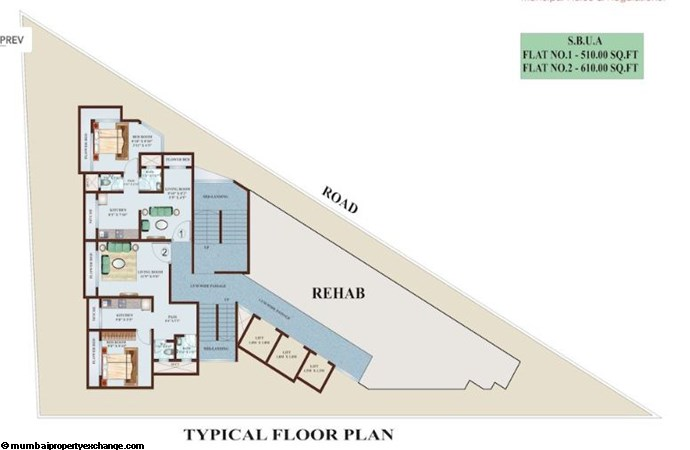 Rupji Signature Floor Plan