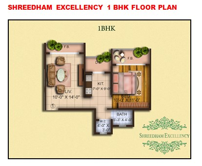 Shreedham Excellency Floor Plan
