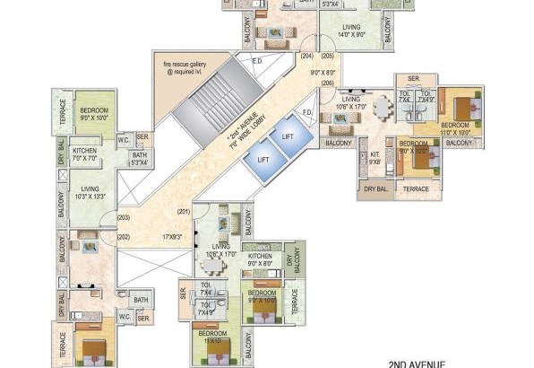 Monarch Imperial Floor Plan