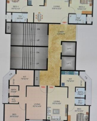 A R Pearl Floor Plan
