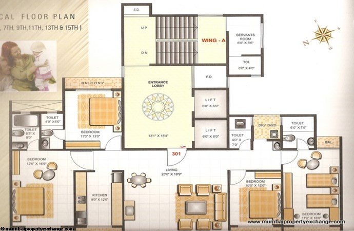 Gold Coast Floor Plan 1
