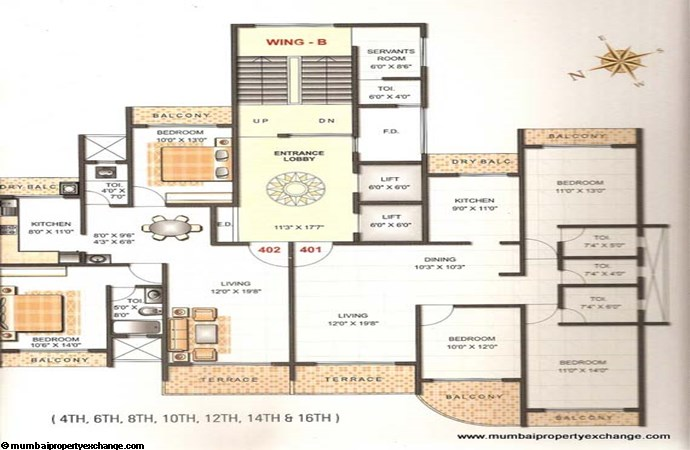 Gold Coast Floor Plan 2