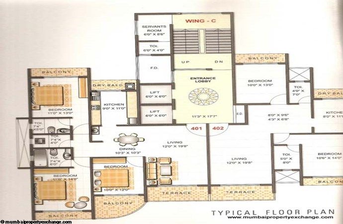 Gold Coast Floor Plan 3