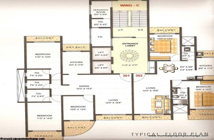 Gold Coast Floor Plan 5