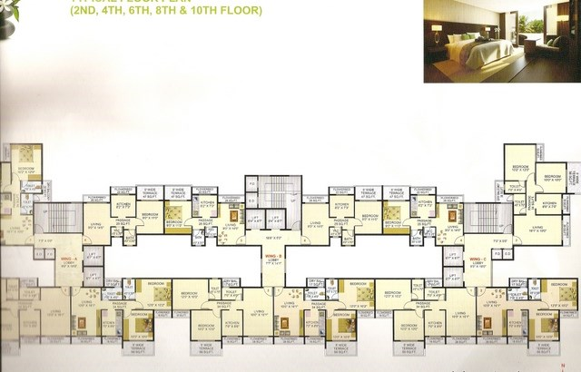 Shree Chamunda Harmony Floor Plan 2
