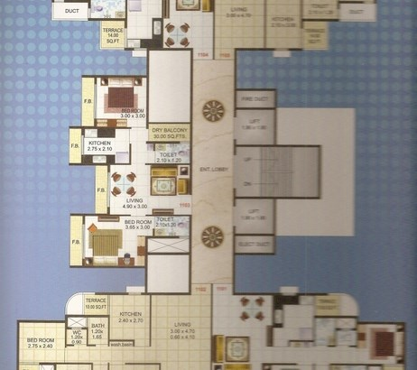 Ma Laxmi Avenue Floor Plan 2