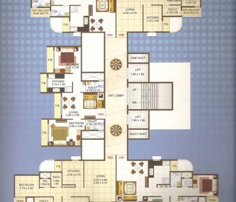 Ma Laxmi Avenue Floor Plan 3