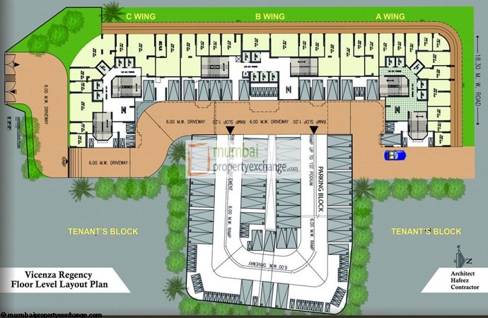 Vicenza Residency Layout Plan