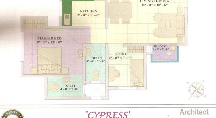 Cypress and Magnolia Floor Plan