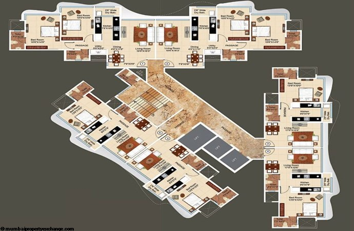 Ajmera Regalia Floor Plan