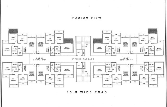 Platinum Venecia Floor Plan