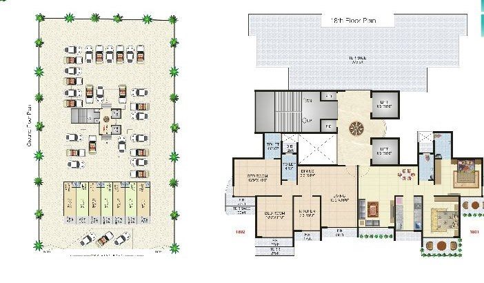 Geetanjali Heights Floor Plan