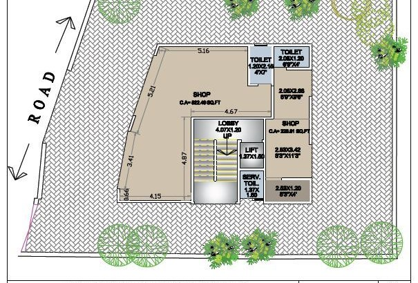 Neelam Apartment Floor Plan
