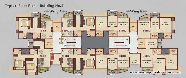White Lotus Floor Plan