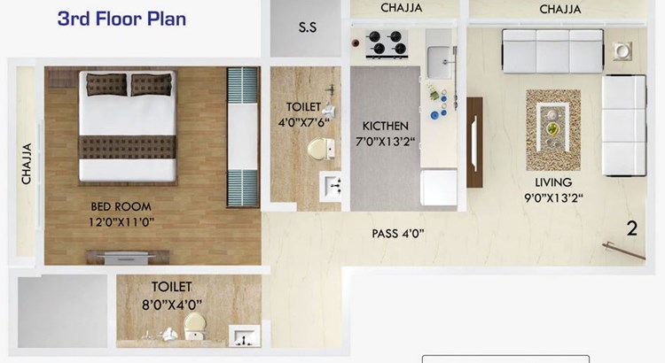 Neev Oasis Floor Plan