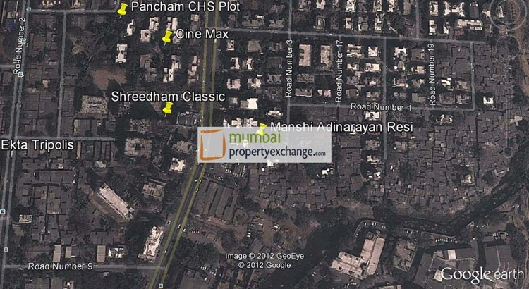 Manshi Adinarayan Residency Google Earth