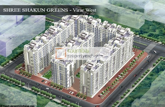Shree Shakun Greens Top View