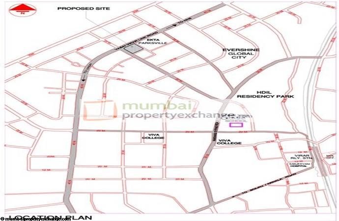 Shree Shakun Greens location Plan
