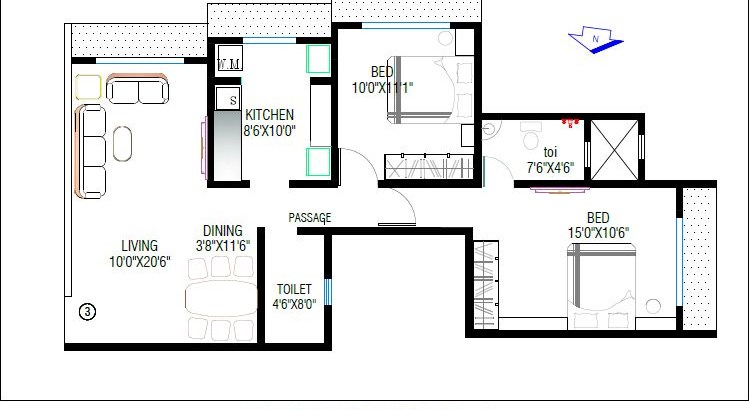 Christina Floor Plan