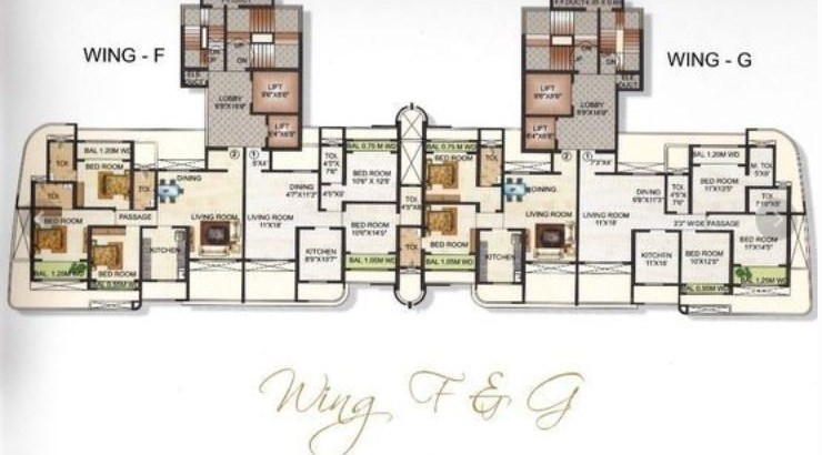Avirahi Homes Floor Plan II