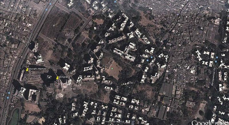 Avirahi Homes Google Earth