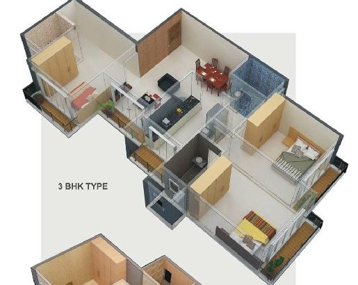 New Gagangiri Floor Plan