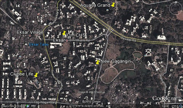 New Gagangiri Google Earth