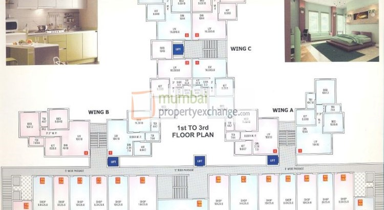 Gold Crest 369 Floor Plan