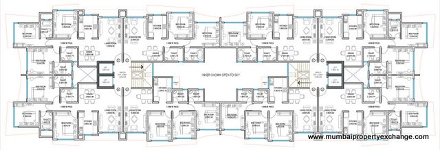 Navratan Apartments Floor Plan