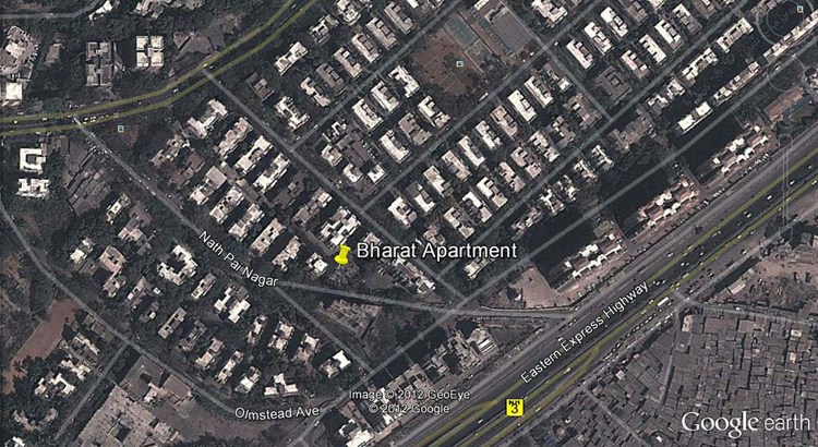 Bharat Apartment Google Earth