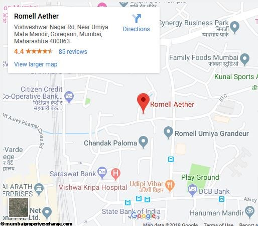 Romell Aether Romell Aether Location Map