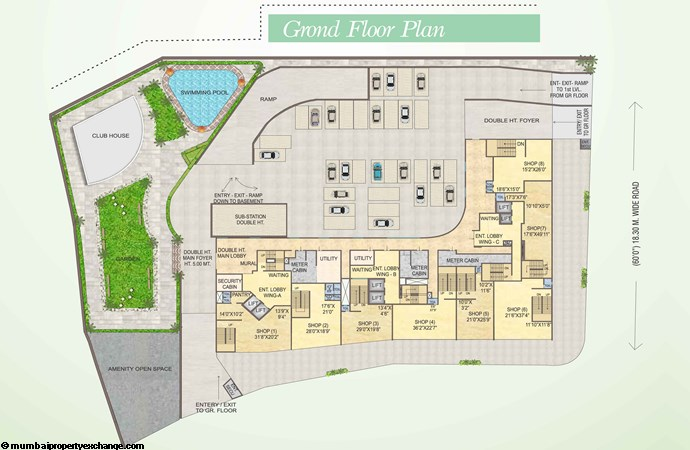Blue Fortuna  Blue Fortuna Ground Floor Plan