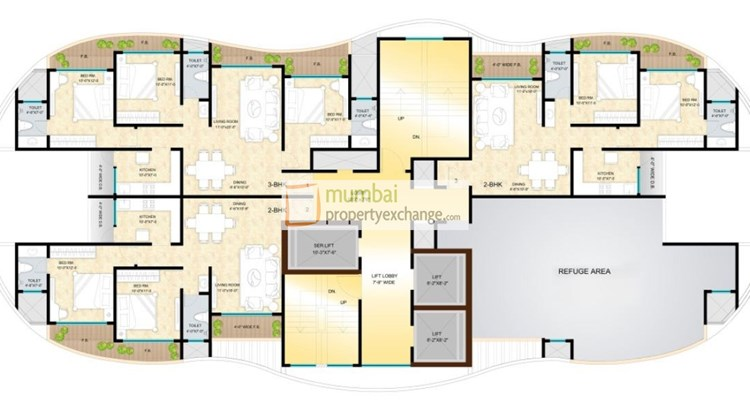 Sunteck City Floor Plan