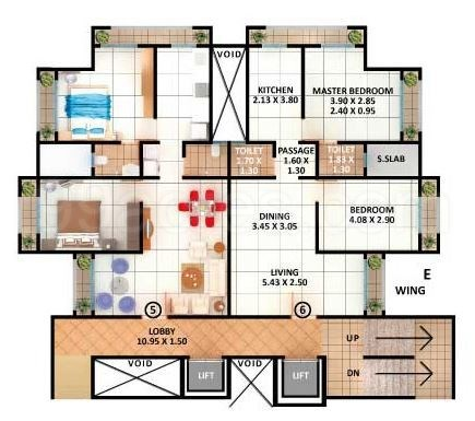 Samarth Arcade Floor Plan