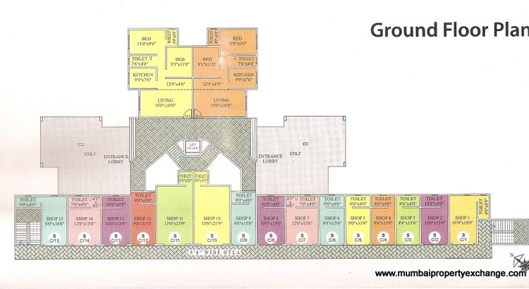 Court Avenue Floor Plan