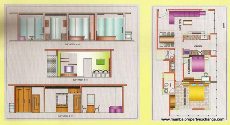 Swastik Galaxy Floor Plan
