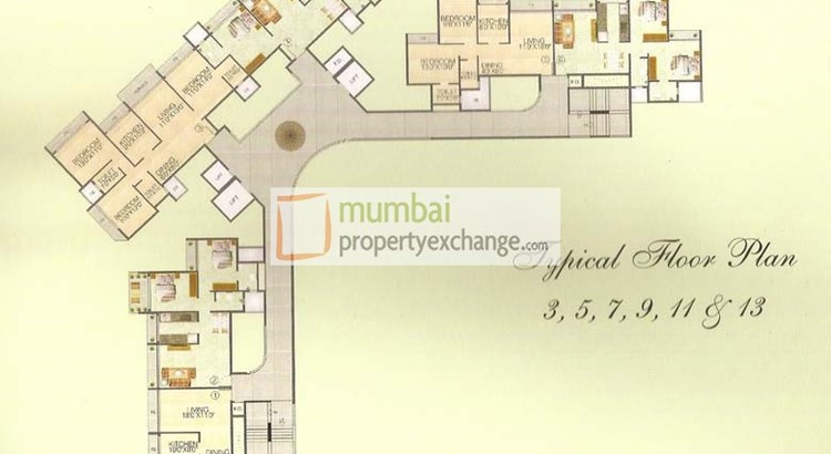 Juhi Greens Floor Plan