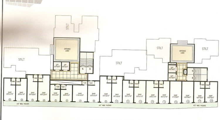 Mahavir Heights Floor Plan