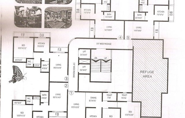 Parshwa Heights Floor Plan
