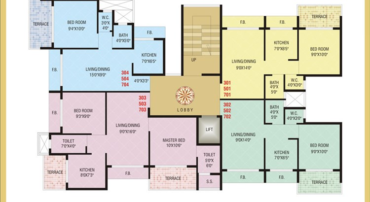 Today Shree Smaran Floor Plan