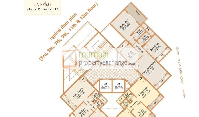 Durja Floor Plan