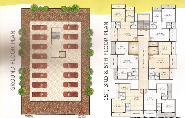 Shardha Galaxy Floor Plan