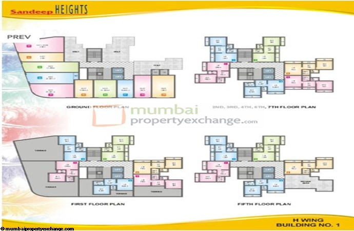 Sandeep Heights Floor Plan