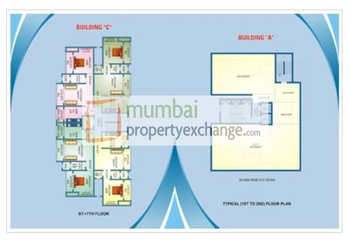 Geeta Heights Floor Plan