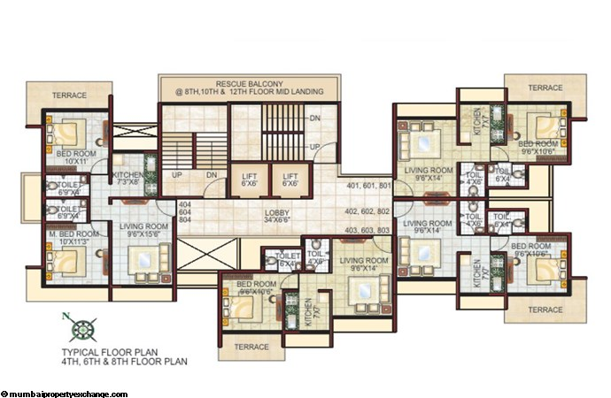 Hillmark Heights Floor Plan